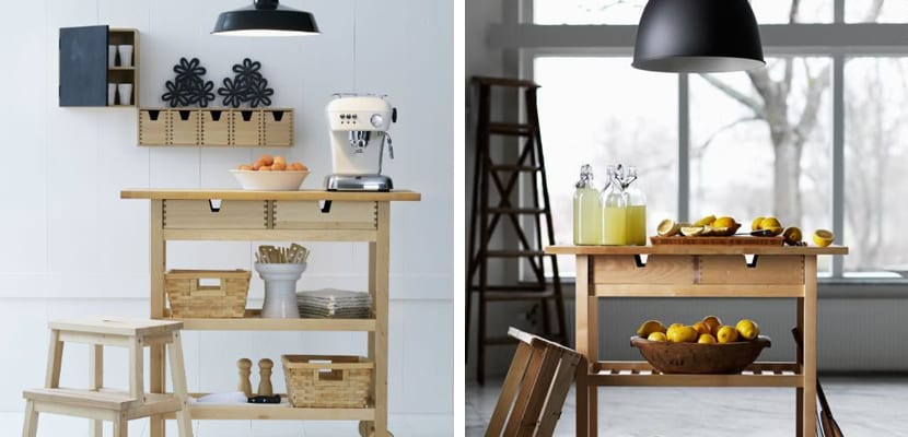 Ideas con el carro Förhöja de Ikea