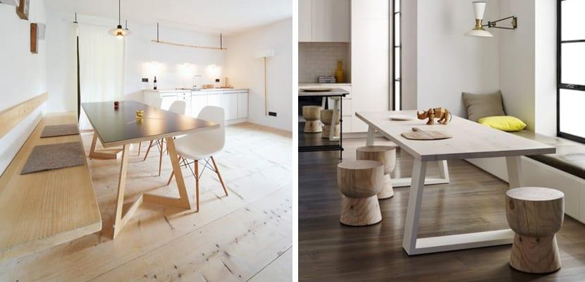 Conseguir un comedor en estilo minimalista for Comedor pequeno moderno