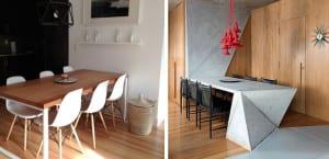 Comedor estilo minimalista