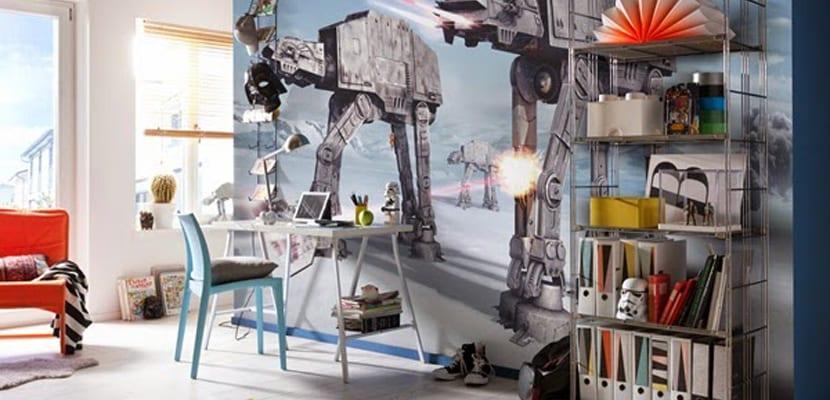 Habitaciones infantiles Star Wars