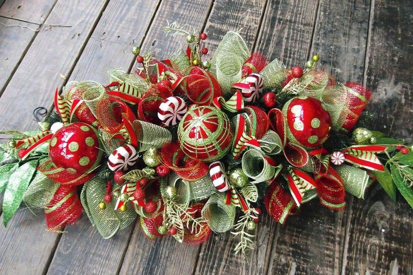 deco navidad rojo verde