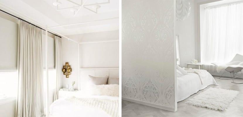 Dormitorios en color blanco