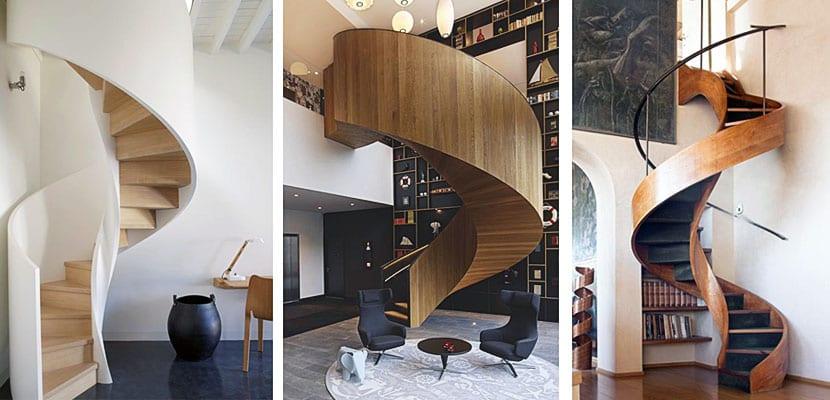 Escaleras de caracol indudable valor est tico for Escaleras de caracol