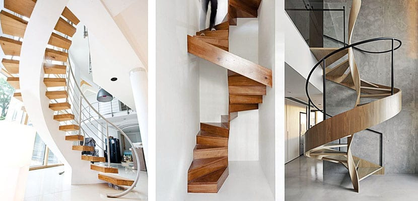 Escaleras de caracol indudable valor est tico - Escaleras de caracol de madera ...
