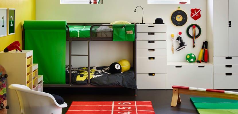 Habitación juvenil de Ikea
