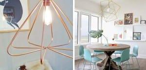 Lámparas geométricas