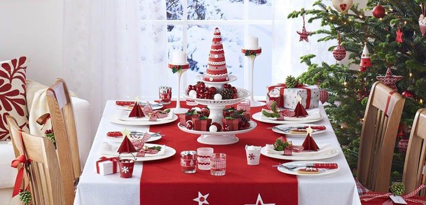 Mesa de Navidad tradicional