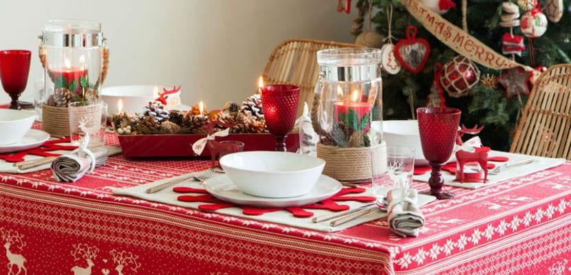C mo decorar la mesa de navidad - Como decorar la mesa de navidad ...