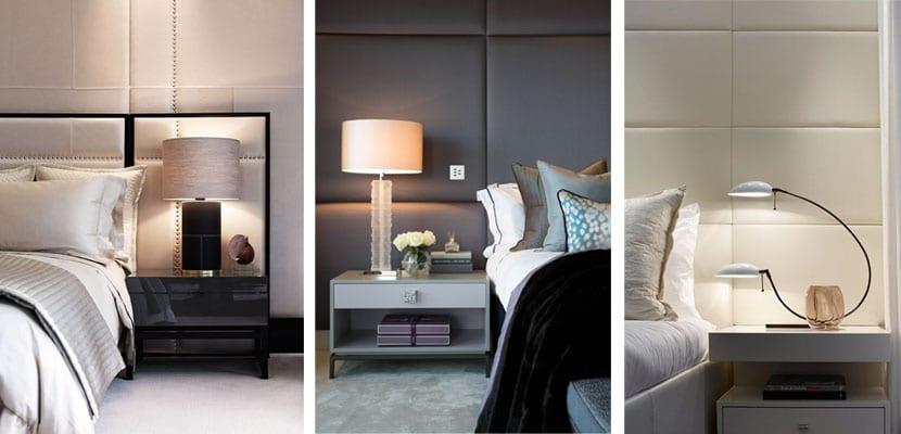 Paneles acolchados dormitorio