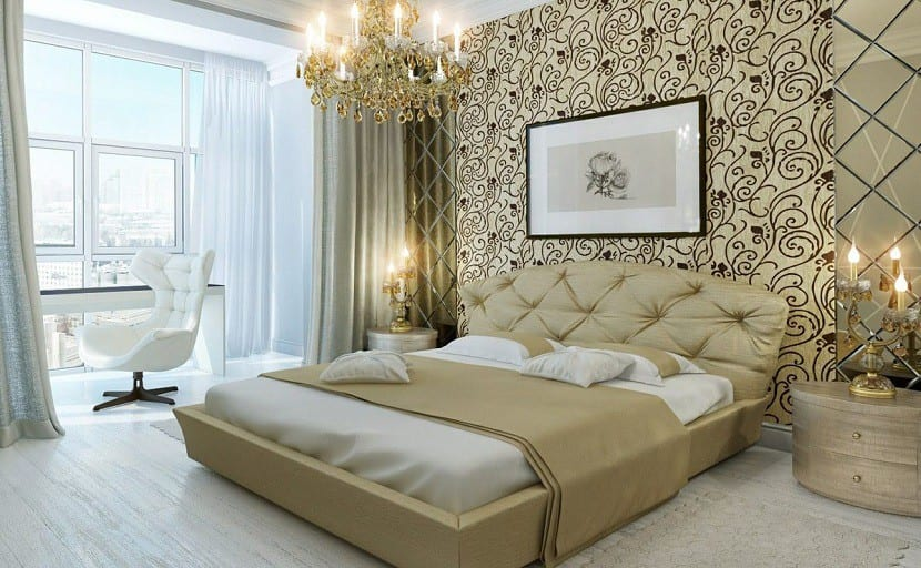 papel-pintado-para-un-dormitorio-de-lujo