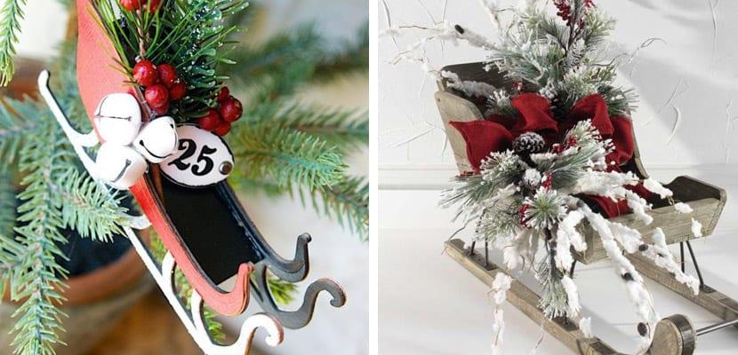 Trineos de Navidad