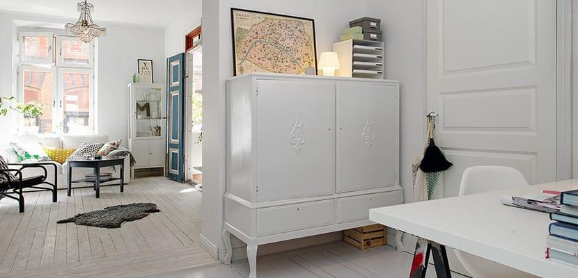 Apartamento peque o decorado con mucho acierto for Como decorar un departamento viejo