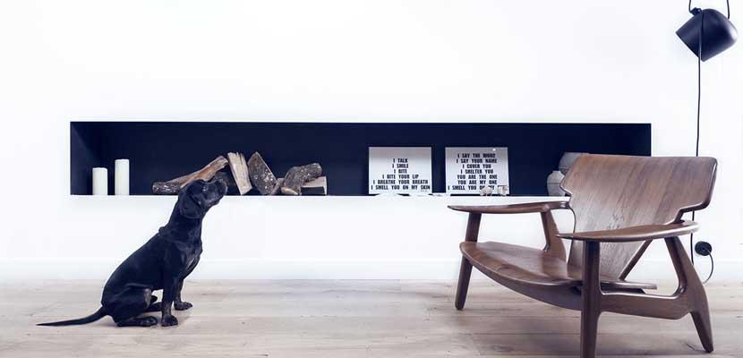 Rústico y moderno, muebles de diseño