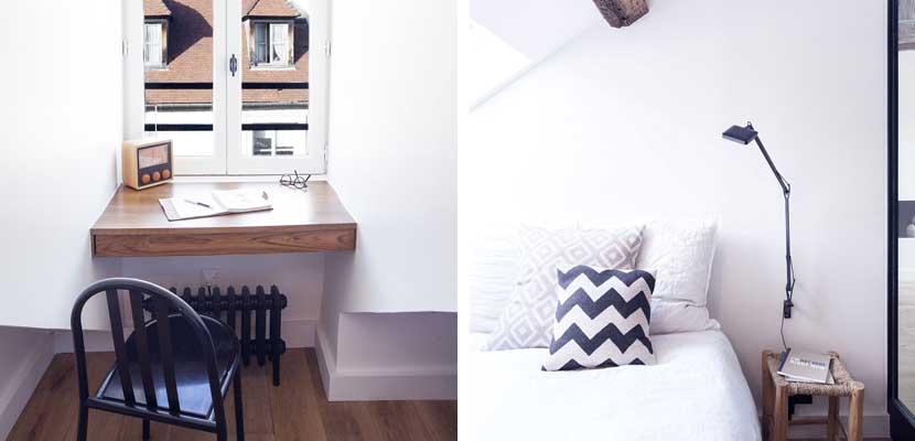 Apartamento rústico y moderno detalles