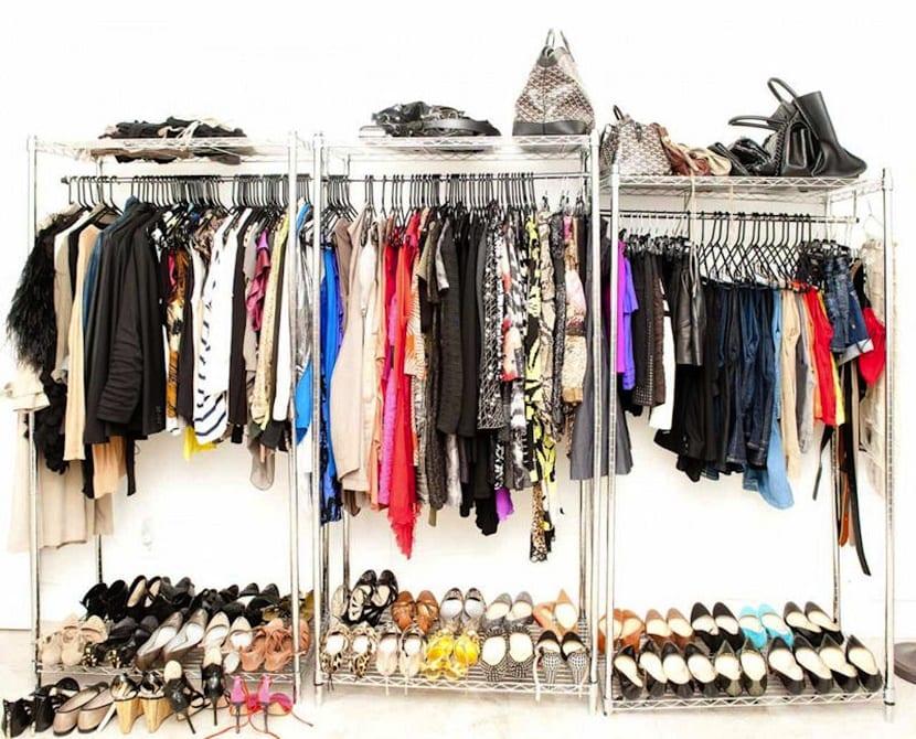 organización del armario de temporada