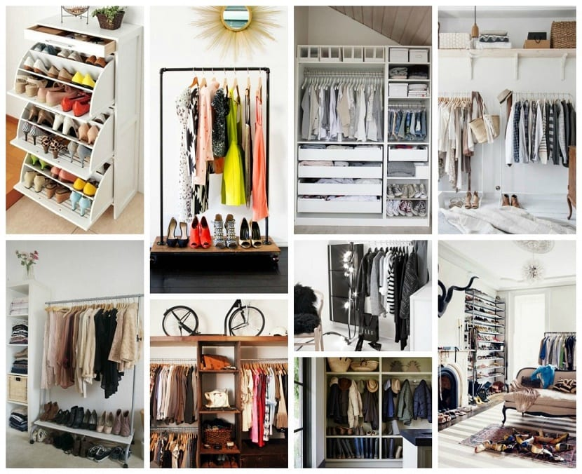 C mo organizar un armario de temporada - Como forrar un armario por dentro ...