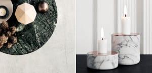 Artículos decorativos de mármol
