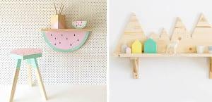 Baldas divertidas para dormitorios infantiles