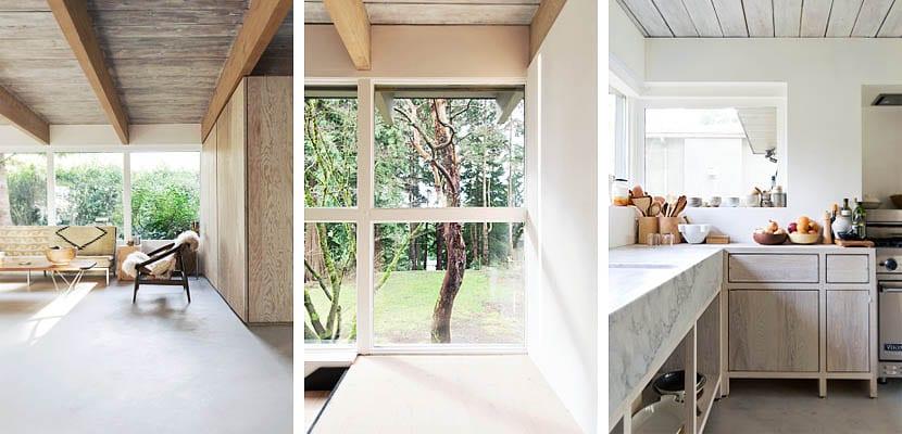 Una casa r stica y moderna en north vancouver for Casa moderna y rustica