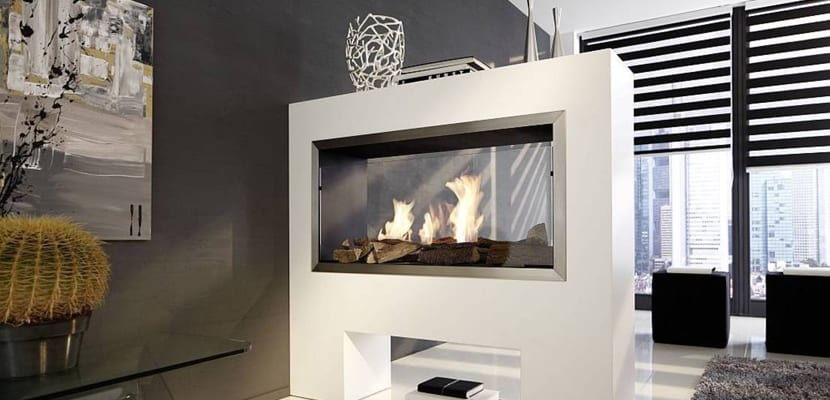 Ideas para decorar con chimeneas modernas - Chimeneas para decorar ...