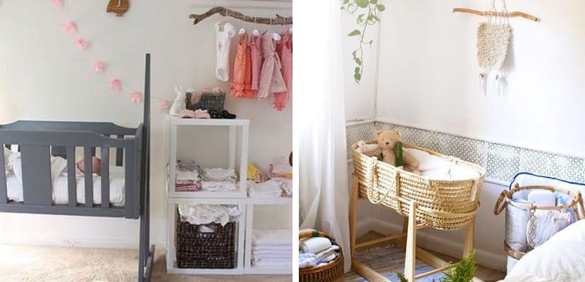 Habitación de bebé pequeña