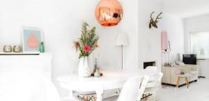 Lámparas de cobre