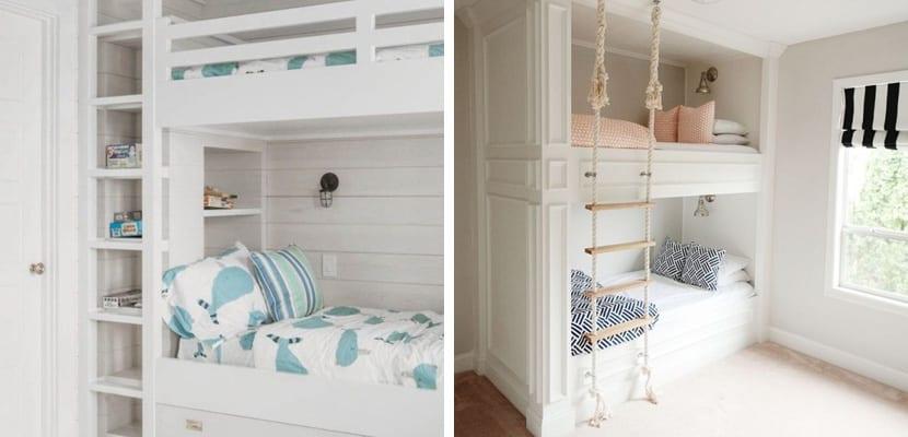 Literas infantiles para habitaciones compartidas - Habitaciones infantiles compartidas ...