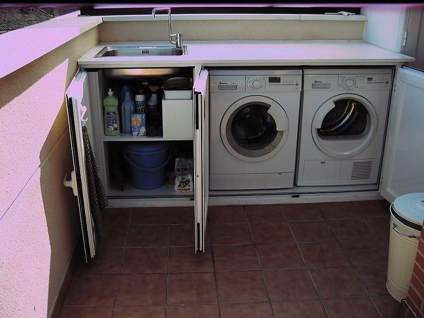 organizar el lavadero