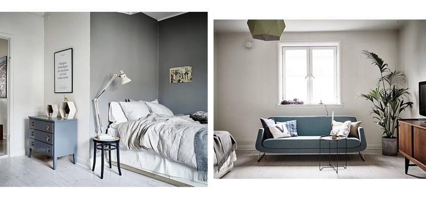 Un piso peque o atractivo y funcional en suecia - Decorar piso pequeno ...