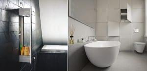 Almacenaje oculto baño
