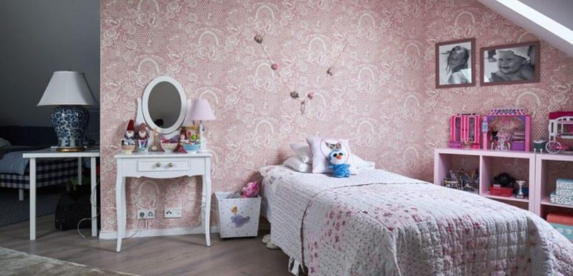 Habitación infantil en ático