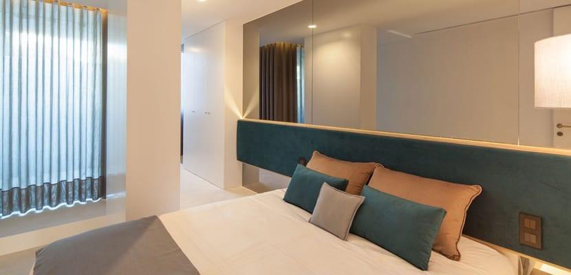 Dormitorio principal minimalista