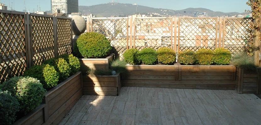 Celosias de madera para jardin finest celosas decorativas - Leroy merlin muebles de jardin y terraza saint etienne ...