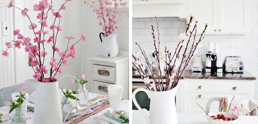 Brotes en la cocina primaveral