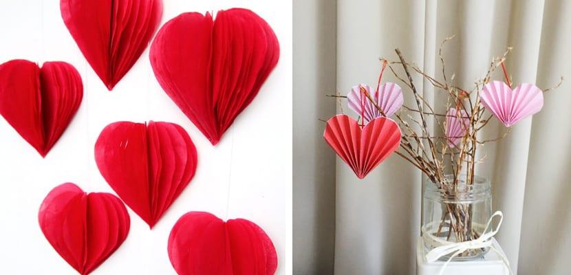 Corazones DIY en San Valentín