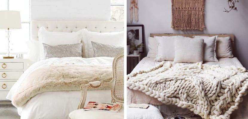 Textiles para un dormitorio relajante