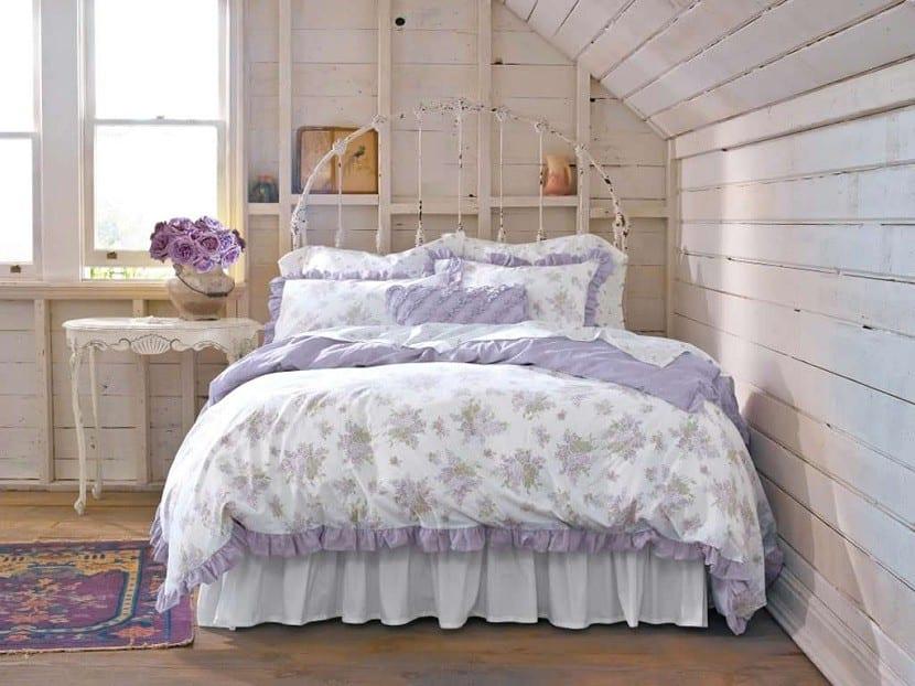 C mo decorar tu casa con el estilo shabby chic - Dormitorio vintage chic ...