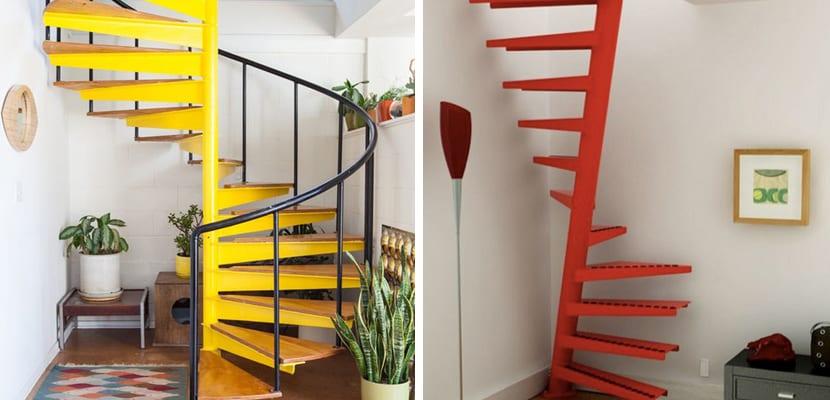 Escaleras de caracol en casa for Escaleras de caracol