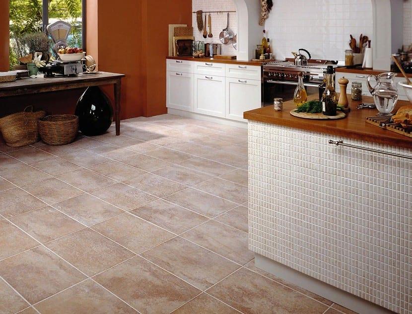 ideas para el suelo de tu cocina. Black Bedroom Furniture Sets. Home Design Ideas