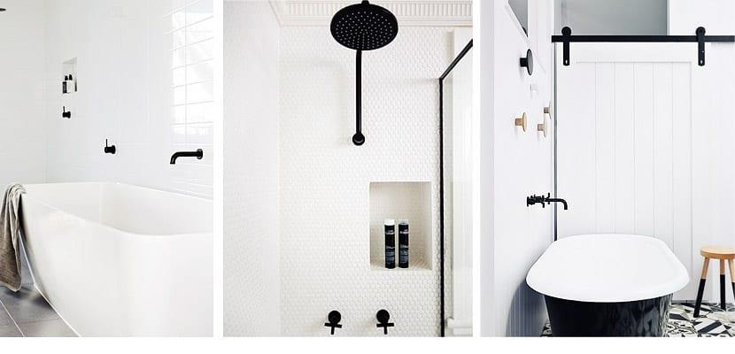 Grifer a negra para decorar el cuarto de ba o - Accesorios para cuarto de bano ...