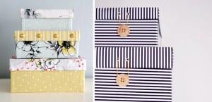 Ideas de almacenaje con cajas