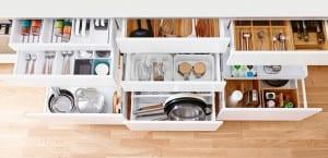 Ikea organiza la cocina