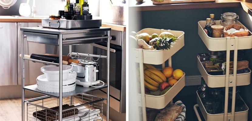 Carritos de cocina de Ikea