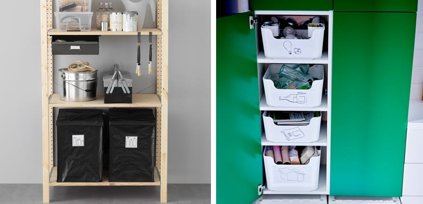 Reciclaje en Ikea
