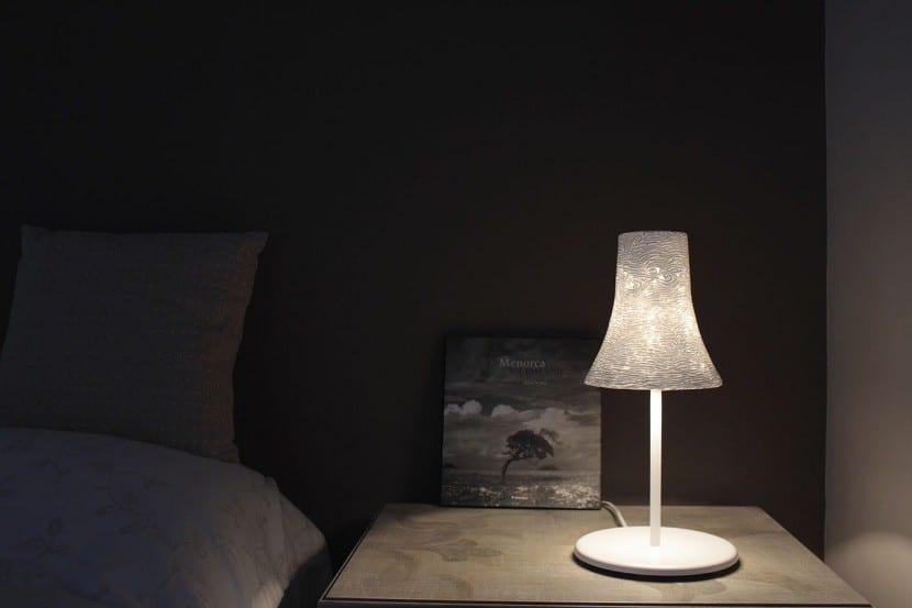 C mo iluminar la mesita de noche del dormitorio - Lamparas para mesitas de noche ...