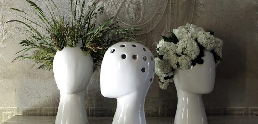 Macetas originales con cerámica