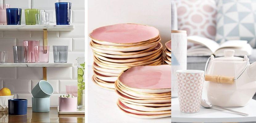 9 accesorios rosa quartz para tu cocina for Articulos de menaje