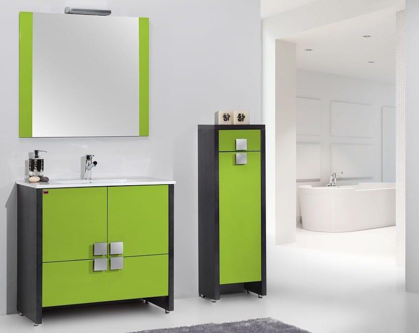mueble-bano-verde