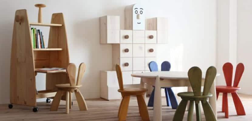 Mueble infantil ecológico Hiromatsu