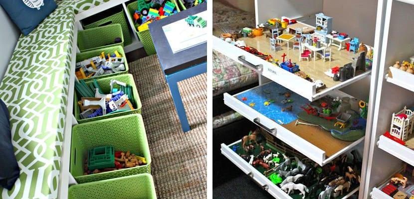 Ideas para organizar los juguetes - Cajon para juguetes ...